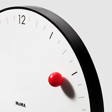 MOMA Modern Innovative Magnetic Timesphere Ball Wall Clock Gift Home Decor