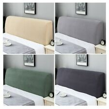 New Headboard Cover Dustproof Bedside Cover Bed Slipcover Soft Elastic Thicken