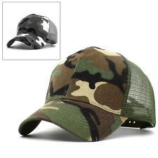 HOMBRE MUJER Camuflaje Gorra Béisbol Ejército Militar Camping Visor Hat