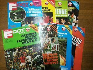 Miroir Du Football Lot De 240 À 247