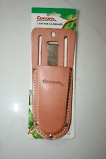 Two (2) Corona Leather Pruner Scabbards, New