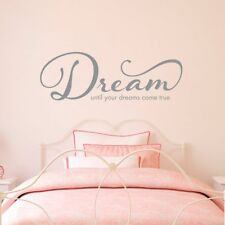 DREAM Inspirational Motivation Vinyl Wall Decal Wall Quote Lettering Art Sticker
