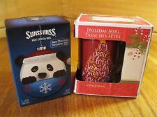 Christmas Holiday Swiss Miss Hot Cocoa and Mug Gift set
