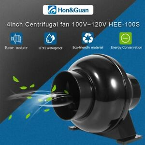 Hon&Guan Duct Fan Energy Saving Ventilation Fan Industrial Air Exhaust with plug