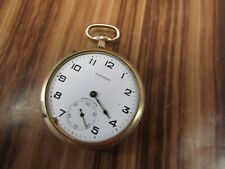 Needs Work Selling As Is. Antique Open Face Standard Pocket Watch