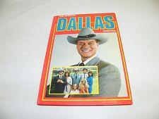 DALLAS J.R.. BOOK DIN A4 VIELE FOTOS HARDCOVER 1981 LARRY HAGMAN JR EWING OIL