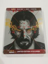 John Wick 3 Parabellum Walmart Limited Edition Steelbook Blu-Ray/Dvd/ Digital.