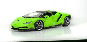 Lamborghini Centenario Green 1:18 Model Car Maisto Special Edition, New
