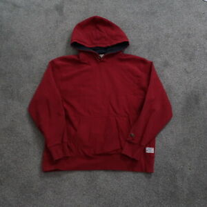 American Eagle Hoodie Men's Size Large red Embroidered