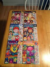 Face Sticker Books For Children 6 Different Books To Pick From New