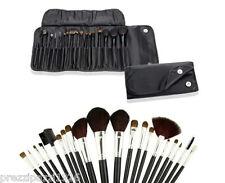 Set da 18 pennelli Make Up professionali + pochette set Cosmetic Brush trucco