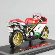 Maisto 1/18 Scale DUCATI 1098S Motorcycle Diecast Model With Base/ Box As Toys