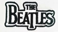 THE BEATLES IRON ON EMBROIDERED PATCH MUSIC ROCK BAND 7.5cm x 4cm LEGENDS GRUNGE