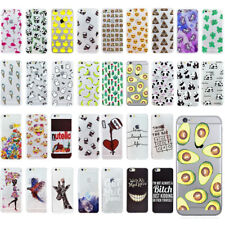 Coque protection ultra-fine gel TPU souple neuf pour iPhone 5 5S 6 6S 7 Plus