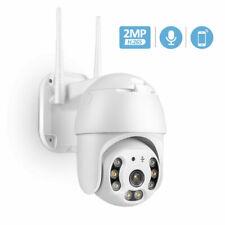 Wireless Outdoor IP Camera HD 1080P WiFi ZOOM CCTV Security IR Webcam Dome PTZ