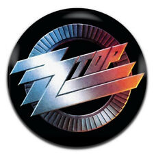 ZZ Top Band Heavy Rock 25mm / 1 Inch D Pin Button Badge