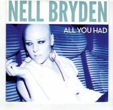 (GR76) Nell Bryden, All You Had - 2013 DJ CD