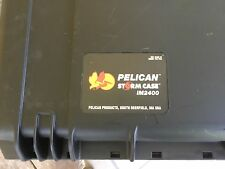 NEW Pelican iM2400 Storm Case Drone Guns Camera GoPro with Foam (Black) pre cut