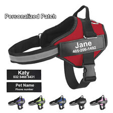 PERSONALIZED POWER HARNESS STRONG ADJUSTABLE & SAFE DOG PUPPY HARNESSES