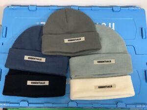 FEAR OF GOD ESSENTIALS Beanie Hats Unisex Cap Warm Knitted Hat Halloween Gift UK