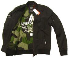 Superdry Men's Artillery Black Rookie Air Corps Bomber Jacket