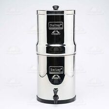 Big Berkey Stainless Steel Water Filter with 4 Black Filters Brand NEW