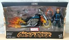 HASBRO MARVEL LEGENDS AVENGERS ULTIMATE 6 inch GHOST RIDER & MOTORCYCLE