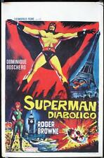 R035 INCREDIBLE PARIS INCIDENT Belgian '67 art of wacky Italian superhero