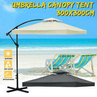 10'x10'Replacement Canopy Top Patio Gazebo Outdoor Sunshade Cover Beach Umbrella