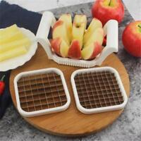 Stainless Steel Fruit Apple Pear Easy Cut Slicer Cutter Corer Divider Peeler LD