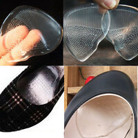 6 x Silicone Gel Cushion Insoles High Heel Inserts Pads Shoe Front Pad Foot Care