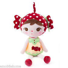 Metoo Cute Stuffed Cartoon Animal Design Babies Plush Toy Doll for Kids Birthday