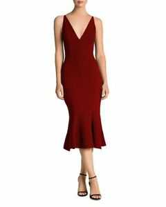 Dress the Population Isabelle Mermaid Midi Dress MSRP $216 Size S, M # 1A 1280 N