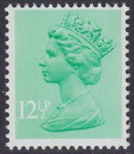 GREAT BRITAIN - 1982 12½p Light Emerald '2 Thin Side Bands' ERROR - UM / MNH