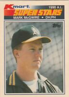 FREE SHIPPING-NRMINT-1990 KMART #32 MARK MCGWIRE ATHLETICS