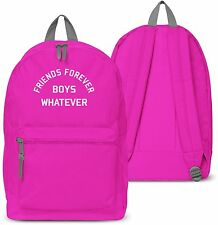 Friends Forever Boys Whatever Back Pack School bag Swag Holdall Uni Collage 25