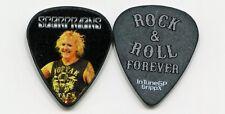 SCORPIONS 2014 Forever Tour Guitar Pick!!! JAMES KOTTAK custom stage MIS-PRINT