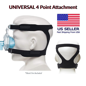 2 Pack Universal CPAP Strap Fits ResMed, Philips Respironics, & Many Other Masks