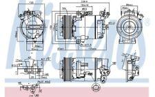 NISSENS Compresor aire acondicionado 890015