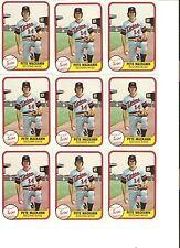 18 CARD PETE MACKANIN BASEBALL CARD LOT           1-2