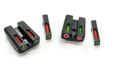 Fiber Optic Glock Sights For Models 17 19 22 23 24 26 27 33 34 35 38 39 45 Spina