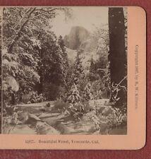 """ YOSEMITE, CAL. U.S.A.. "" ORIGINAL B.W. KILBURN,  STEREOVIEW ."