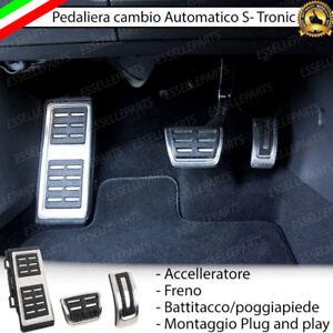 SET PEDALIERA COPRIPEDALI COPRI PEDALI PER CAMBIO AUTOMATICO S-TRONIC AUDI A3 8V