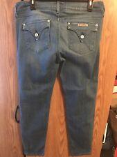 Euc Hudson Jeans Collin Crop Skinny leg Size 32