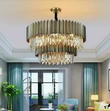 Modern LED K9 Crystal Chandelier Ceiling living room Bedroom pendant Lighting#21