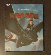 HOW TO TRAIN YOUR DRAGON Blu-Ray SteelBook UK Exclusive Region Free New OOP Rare