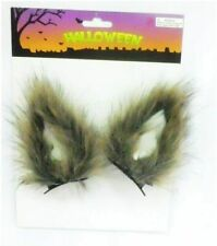 Stylex Party Ltd Clip on Brown Wolf Ears Halloween Cute Fancy Dress Headband UK