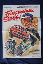 orig Kino Plakat - Friss meine Staub - Eat my dust 1976 Ron Howard Auto Oldtimer