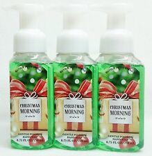 3 Bath & Body Works CHRISTMAS MORNING Gentle Foaming Hand Soap