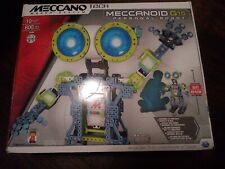 Meccano Tech Maker System Meccanoid G15 Personal Robot 2 FT Building Set Sealed